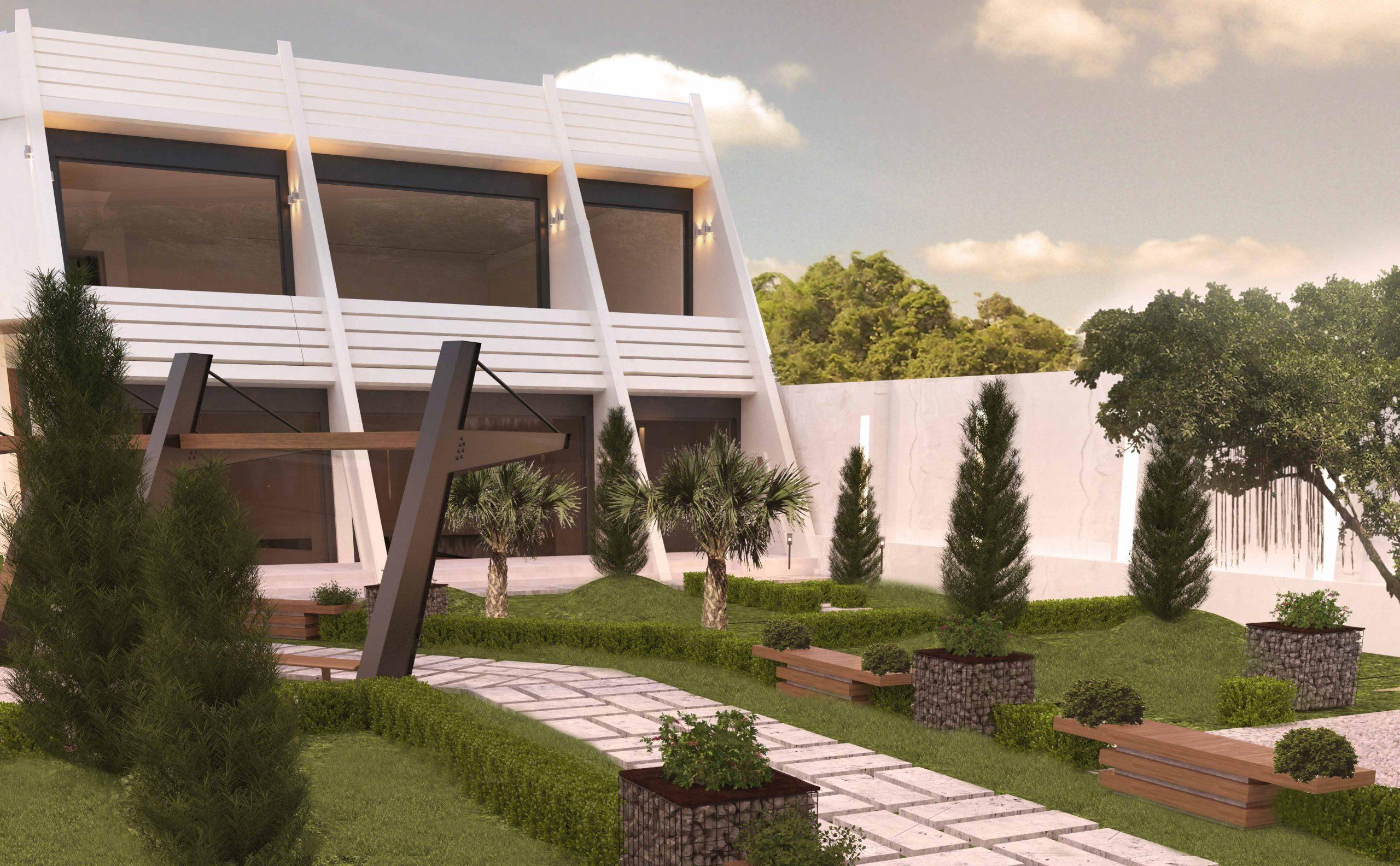 پروژه ویلا مدرن در مشهد