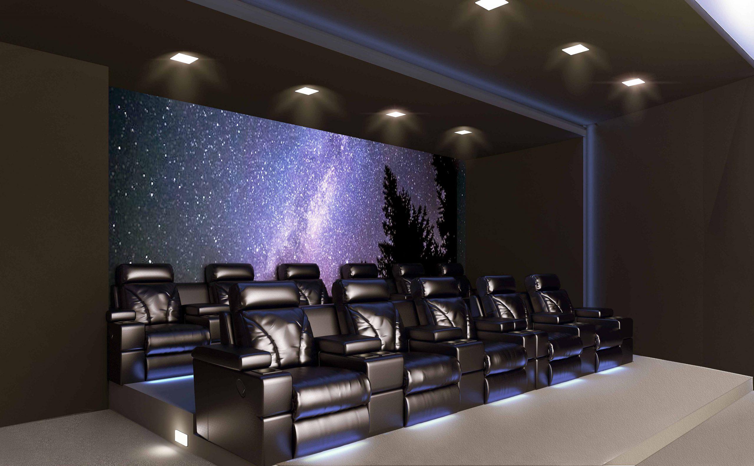 طراحی سینما خانگی مدرن