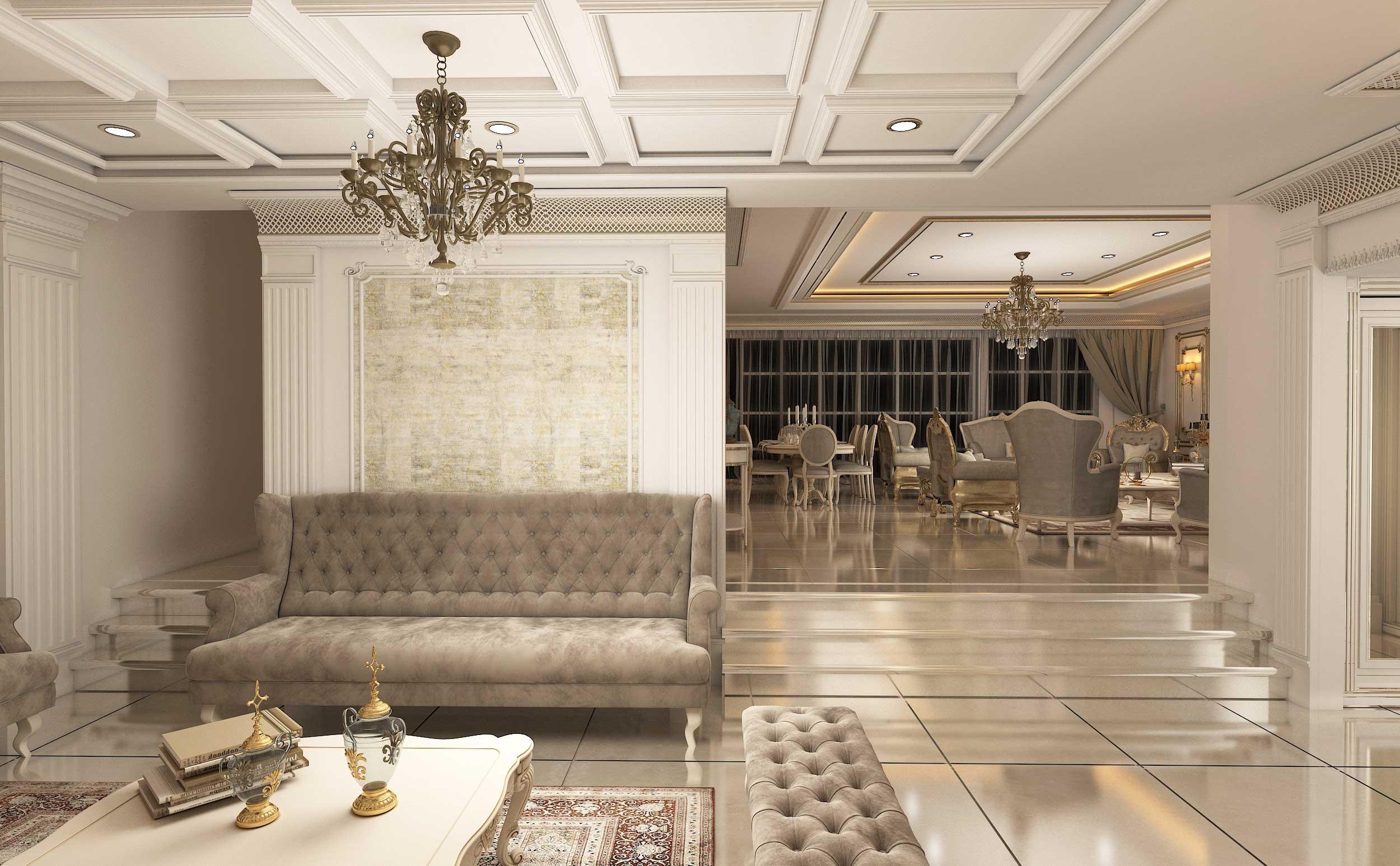 معماری داخلی کلاسیک
