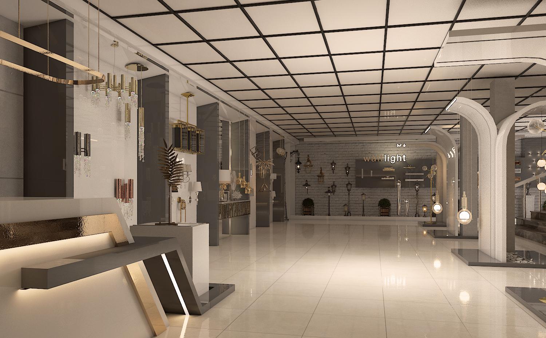 طراحی فروشگاه مدرن