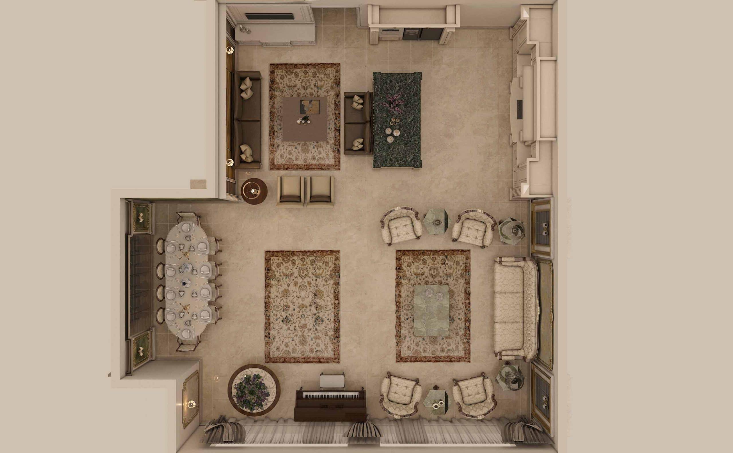 طراحی دکوراسیون داخلی گروه معماری سعیدیان