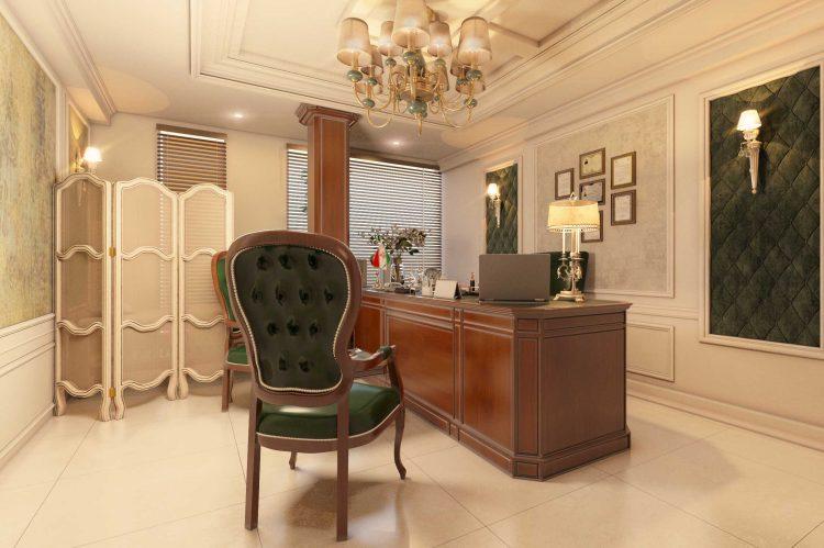 طراحی مطب طب سوزنی گروه معماری سعیدیان