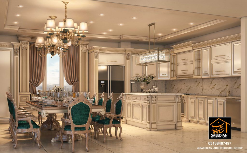 طراحی دکوراسیون آشپرخانه در مشهد