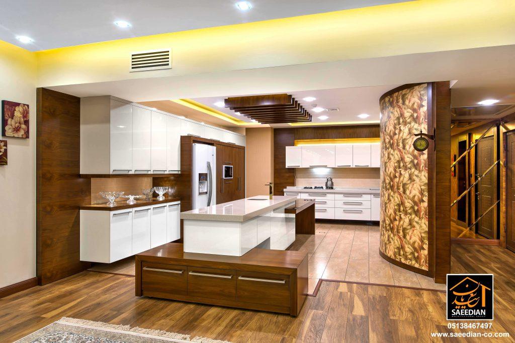 طراحی دکوراسیون داخلی با چوب گروه معماری سعیدیان