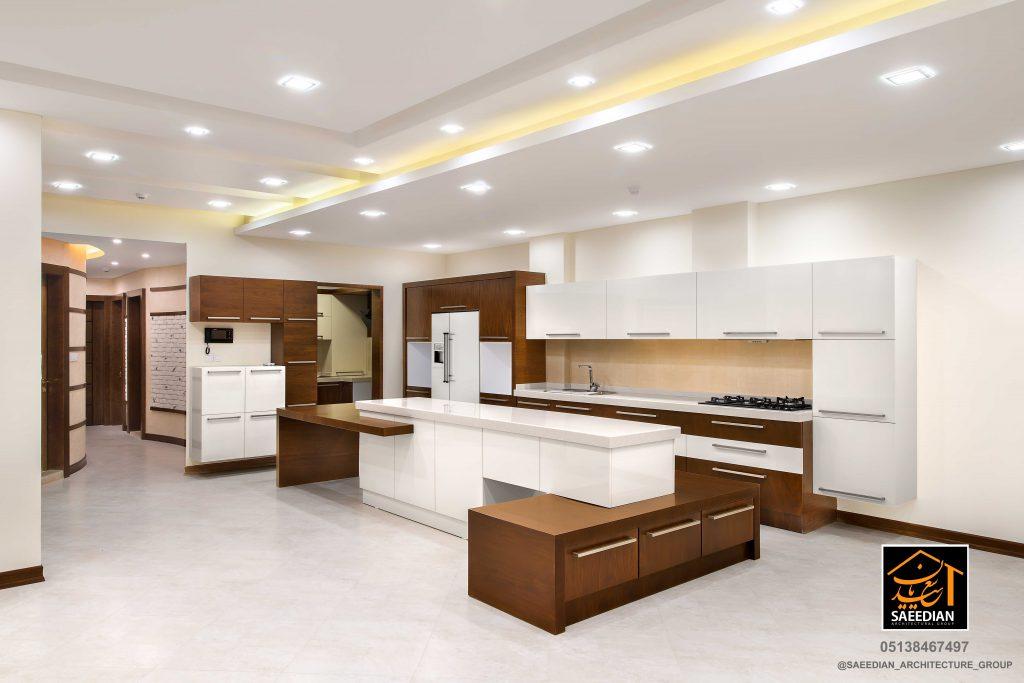 طراحی دکوراسیون آشپزخانه مدرن در مشهد