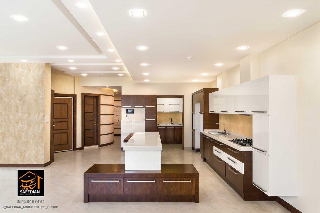 طراحی آشپزخانه مدرن در مشهد