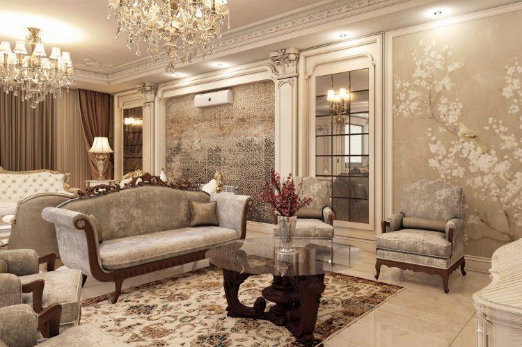 طراحی داخلی کلاسیک